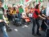 i manifestanti